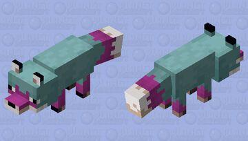 WARPED(ish) FOX Minecraft Mob Skin