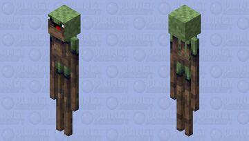 New Noob Jungle Enderman Skin Minecraft Mob Skin