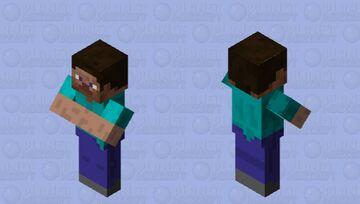 Cursed Steve Minecraft Mob Skin