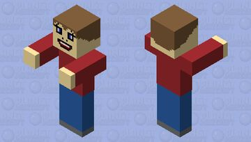 random cringy thing i made Minecraft Mob Skin
