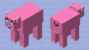 Cute cow Minecraft Mob Skin