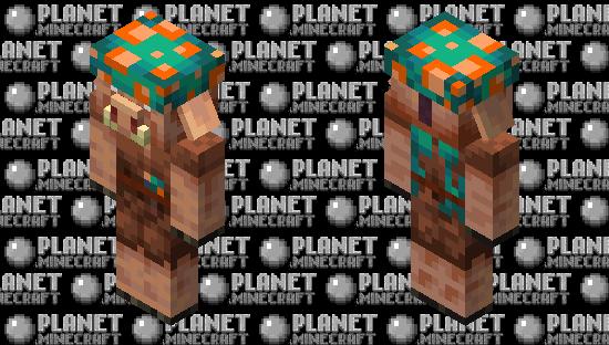 Piglin Farmer Minecraft Skin