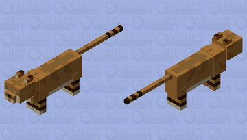 Sand Cat Minecraft Mob Skin