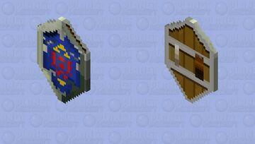 Hylian Shield - Legend of Zelda Minecraft Mob Skin