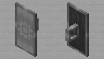 Colorless Shield Minecraft Mob Skin