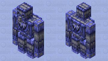 Siege Golem (Blue Team) | 2x HD Minecraft Mob Skin