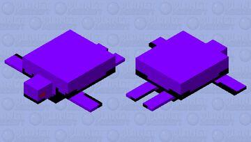 Void Turtle Minecraft Mob Skin