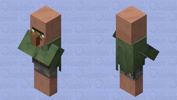 Actual Nitwit Minecraft Mob Skin