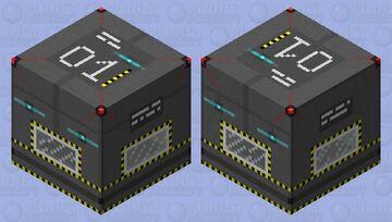 Sci-fi Crate Minecraft Mob Skin