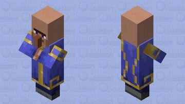 Rich villager dude Minecraft Mob Skin