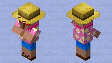 Floral Summer Villager! Minecraft Mob Skin