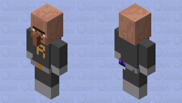 Team Rocket Grunt Minecraft Mob Skin