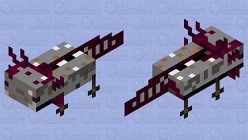underground river salamander Minecraft Mob Skin