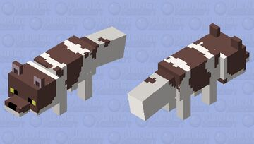 Fuegian Dog Minecraft Mob Skin