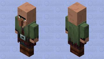 Nitwit Villager Guard Minecraft Mob Skin
