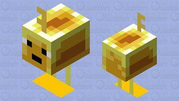 The Key Golem (Gold) (Retexture) Minecraft Mob Skin