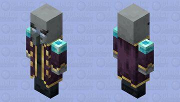 The Evoker (Retexture) (ver.3) Minecraft Mob Skin