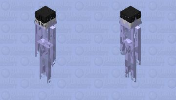 Ghostly hunter Minecraft Mob Skin