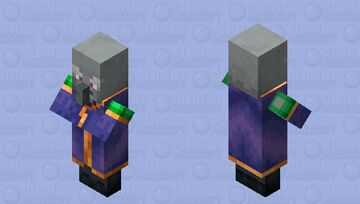 The Enchanter (Variant 2) (Purple) (Retexture) Minecraft Mob Skin