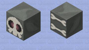 Duskull - Pokemon Ghast Replacer Minecraft Mob Skin