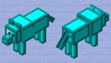 Skeppy dog Minecraft Mob Skin