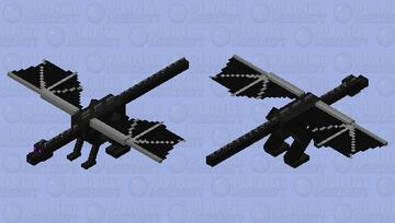 Wonky Dragon Minecraft Mob Skin