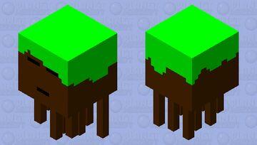 dirt ghast Minecraft Mob Skin