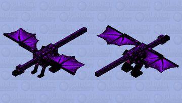 New Ender dragon Minecraft Mob Skin