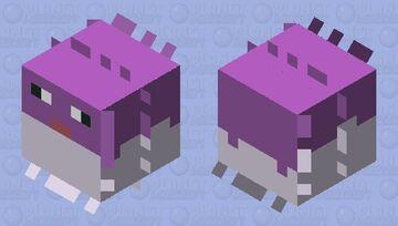 Shiny Qwilfish Minecraft Mob Skin