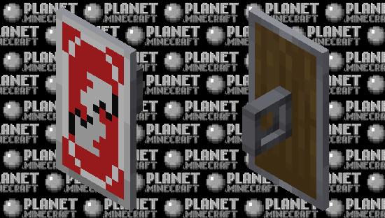 Uno Reverse Shield Minecraft Skin