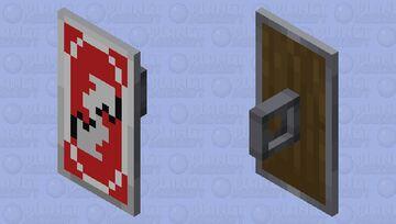 Uno Reverse Shield Minecraft Mob Skin