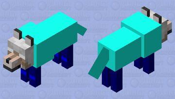 Herobrine's Dog Minecraft Mob Skin