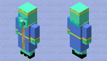 ROYAL ALIEN EVOKER Minecraft Mob Skin