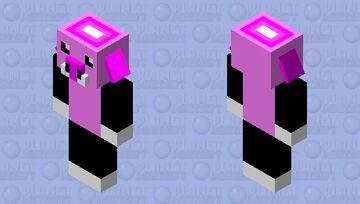 Marshmallow Piglin Minecraft Mob Skin