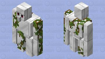 """Copper like Iron"" Iron Golem with Vines Alt. Minecraft Mob Skin"