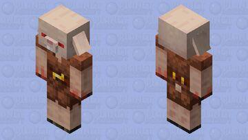Piglin + Killer Bunny = Killer Pig Minecraft Mob Skin