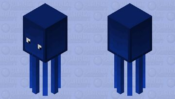 New squid Minecraft Mob Skin