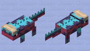Marine Iguana Minecraft Mob Skin