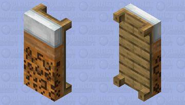 Leopard Print Bed Minecraft Mob Skin