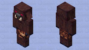 Prehistoric Piglin Brute Minecraft Mob Skin