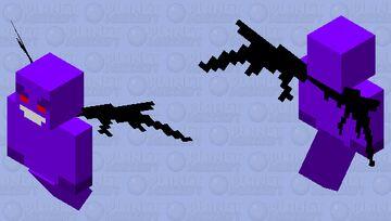 Void Vex Minecraft Mob Skin