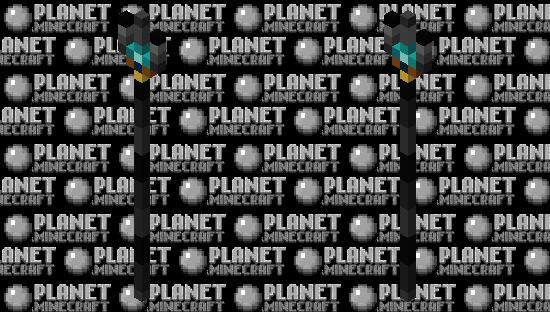 Netherite Trident (improved netherite based) Minecraft Skin