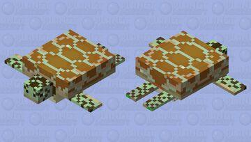Loggerhead Sea Turtle Minecraft Mob Skin