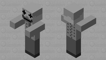 The dummy Minecraft Mob Skin