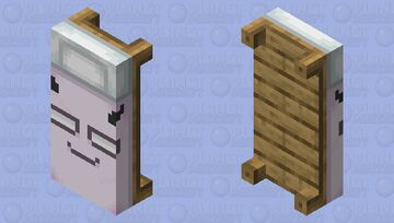 BADDIE SELEVER BED (NOT CLICKBAIT GONE WRONG) Minecraft Mob Skin