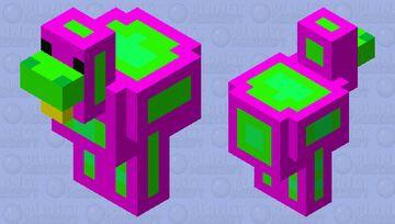 neon chicken Minecraft Mob Skin