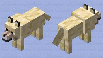 Wolf To Labrador For (Dogs+) Minecraft Mob Skin