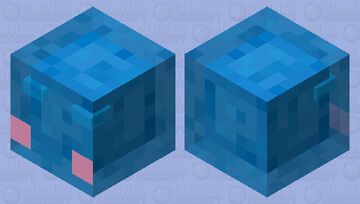 Rimuru Tempest (pink cheeks) Minecraft Mob Skin