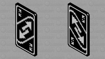 Uno Reverse Card Minecraft Mob Skin