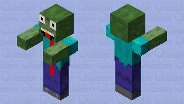 Derpie Zombie Minecraft Mob Skin